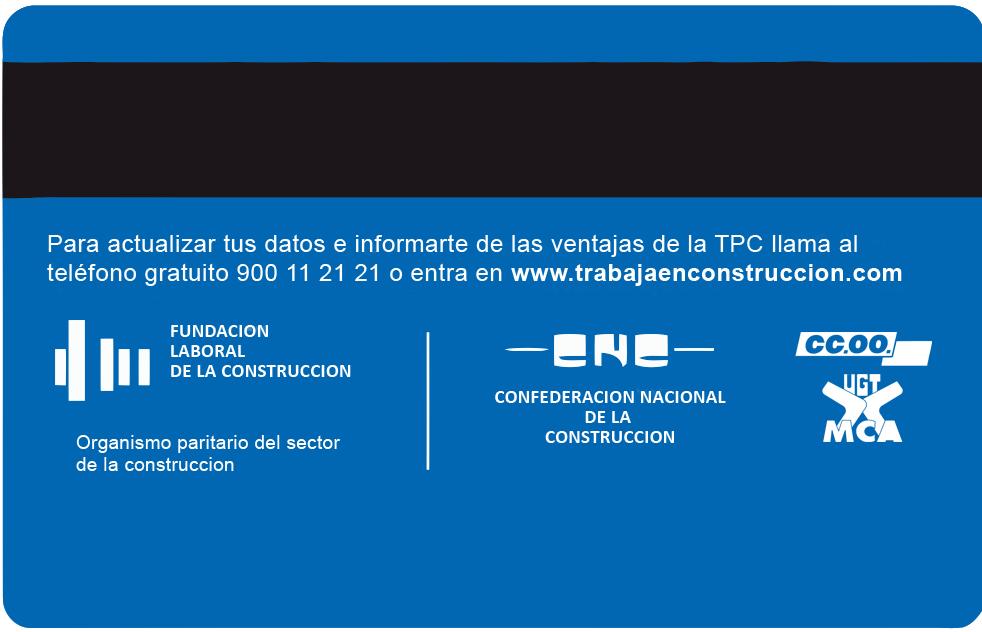 FormaciónTarjeta profesional de la construcción tpc